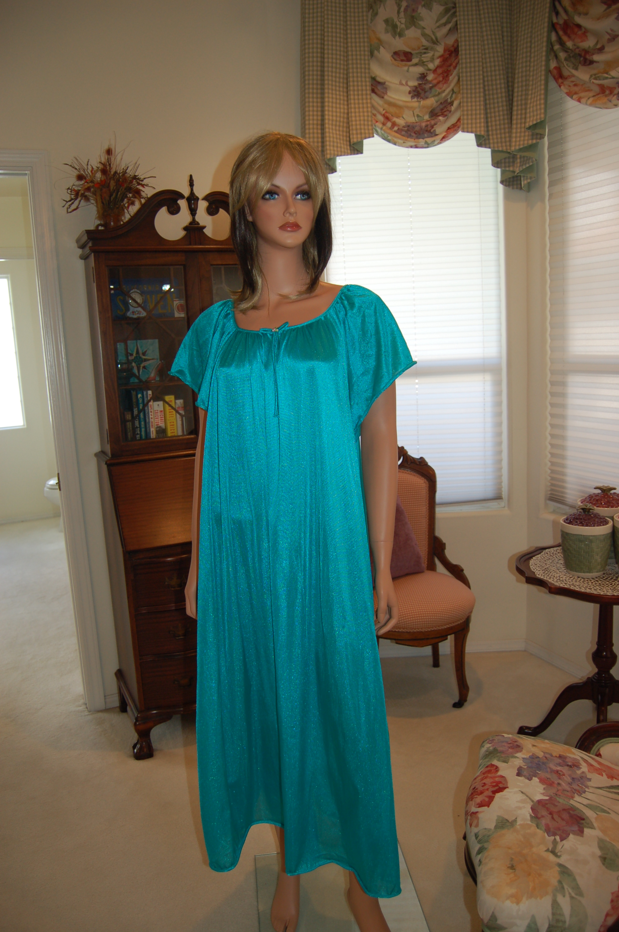 A very simple nylon nightgown 072daa7de