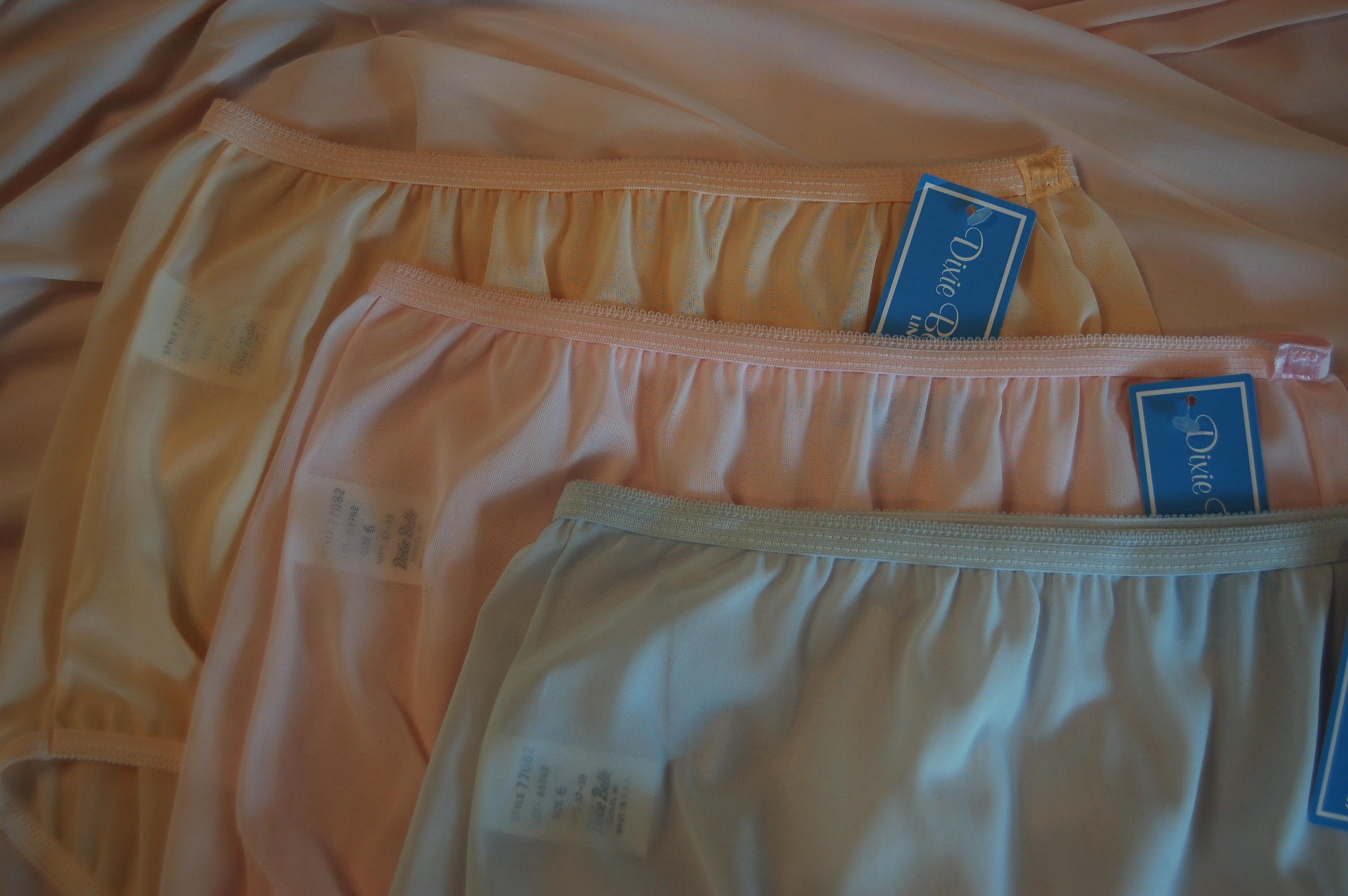 e9127d1914f 77082 Dixie Belle Vintage Panties. All nylon