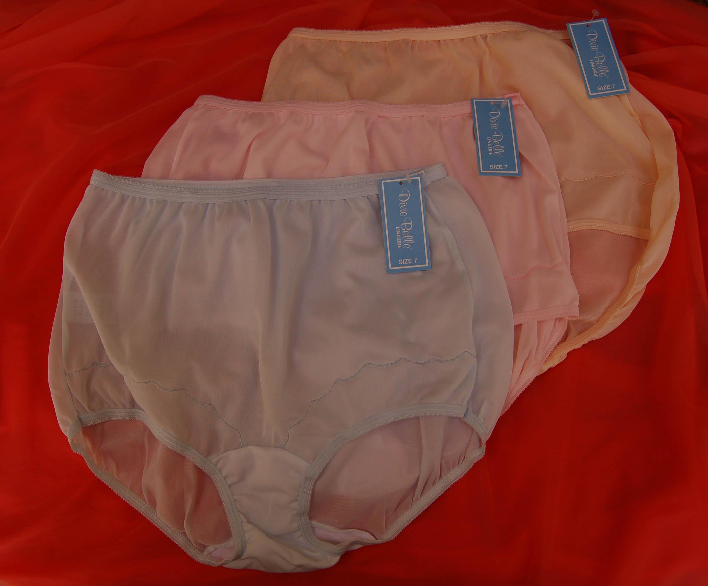 Nylon Brief Panty 115